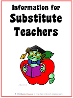 Substitute Teacher Information