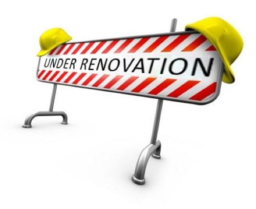 Renovation Under Way